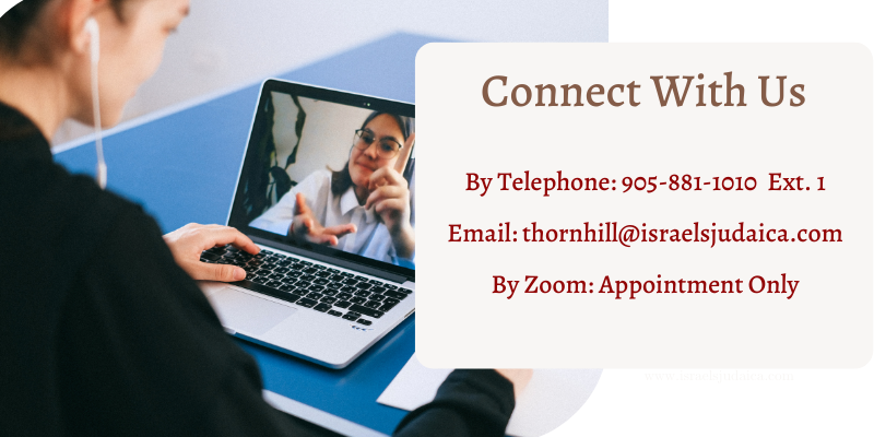 Connect with us. Telephone number, email Zoom by appointment