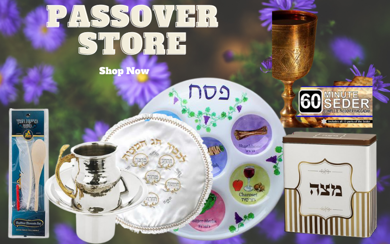 Shop now passover store