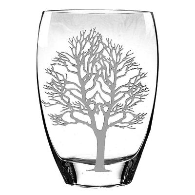 badash crystal vase with tree of life engraving